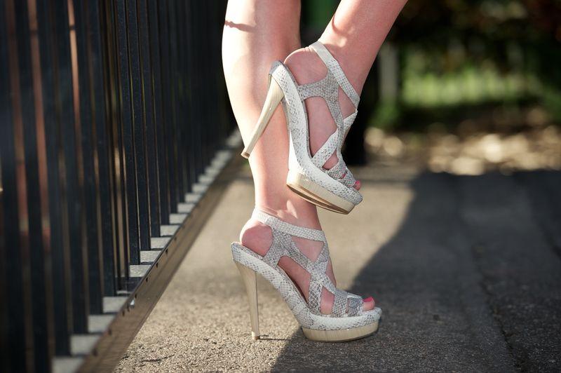 Jil Sander Python Platform Sandals Fashionsnag